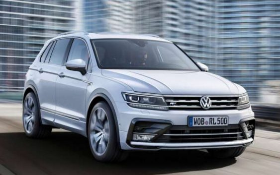 Оновлений Volkswagen Tiguan