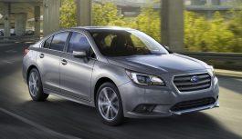 Седан Subaru Legacy оновили