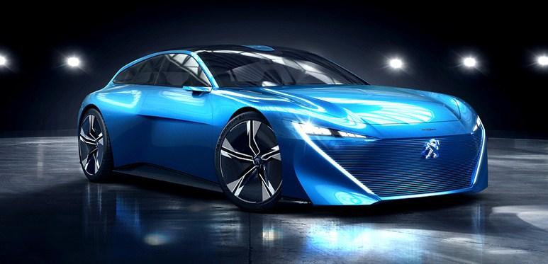 Новий концепт Instinct від Peugeot