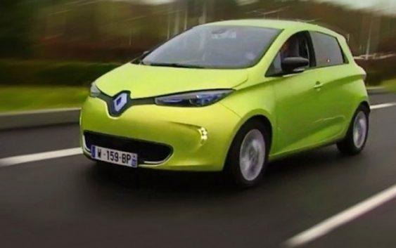 Безпілотники Renault Zoe