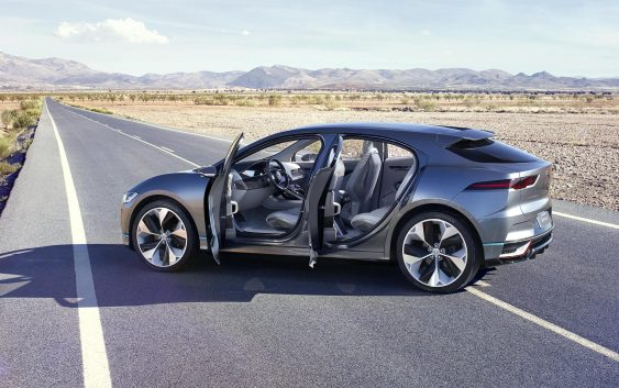 Jaguar I-Pace на електриці