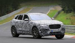 Папарацці зняли новий Jaguar F-Pace SVR