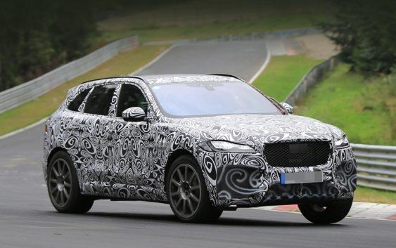 новий Jaguar F-Pace SVR