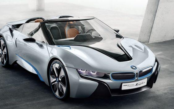 Новий BMW i8 Roadster