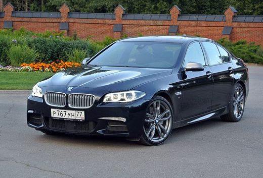 BMW M550D представлений публіці