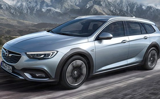 Opel Insignia отримає версію для бездоріжжя