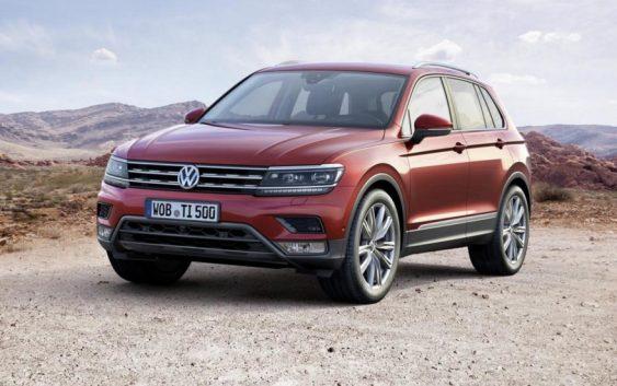 Volkswagen Tiguan отримав новий двигун