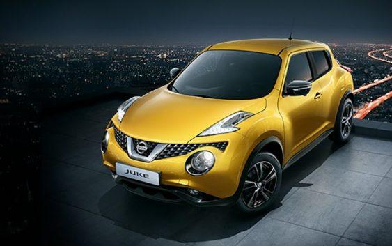 Оновлений Nissan Juke