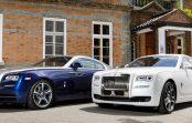 Rolls-Royce представив особливі Ghost і Wraith для Кореї