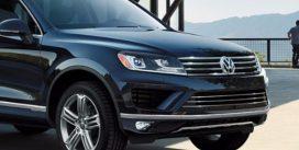 Volkswagen Touareg 2018 помічений під час випробувань