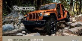 Новий 2018 Jeep Wrangler показали в «просочився» керівництві користувача