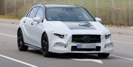 2019 Mercedes A-Class попався фотошпигунам, дебют очікують в Женеві