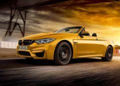 BMW представила ювілейну серії кабріолета М4