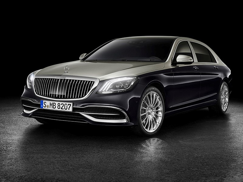 Mercedes-Maybach теперь сильнее отличается от «просто» S-класса