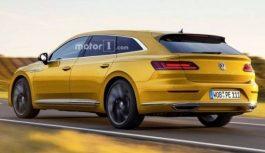 VW випустить універсал Arteon Shooting Brake