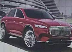 Вигляд розкішного кросовера Mercedes-Maybach розкрили до прем'єри
