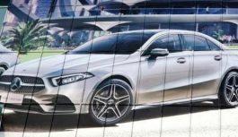 Новий седан Mercedes-Benz A-Class: перше зображення