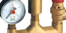 Блок безопасности системы водяного отопления