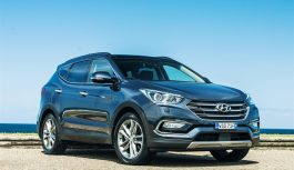 Hyundai Santa Fe – мощный автомобиль нового поколения