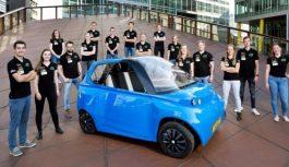 У Нідерландах побудували автомобіль з льону і цукру