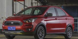 Форд показав компактний седан у версії вседорожной