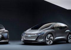 Audi створили електрокар з рослинами в салоні