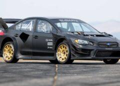 Седан Subaru WRX STI підготували до участі в Gymkhana